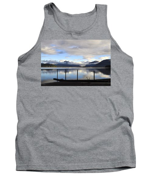 Tank Top featuring the photograph North Douglas Reflections by Cathy Mahnke