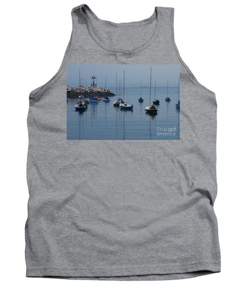 Tank Top featuring the photograph Sail Boats  by Eunice Miller