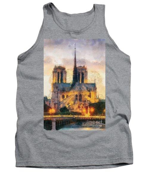 Notre Dame De Paris Tank Top