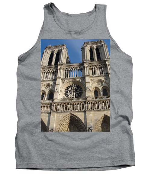 Tank Top featuring the photograph Notre Dame by Tiffany Erdman