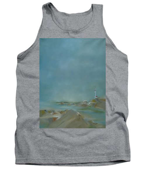 Tank Top featuring the painting Nova Scotia Fog by Judith Rhue