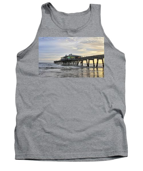 November Morning At Sun Glow Pier Tank Top