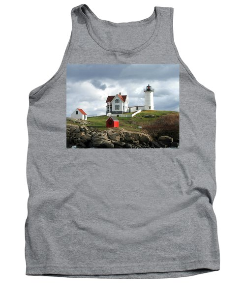 Nubble Lighthouse Tank Top