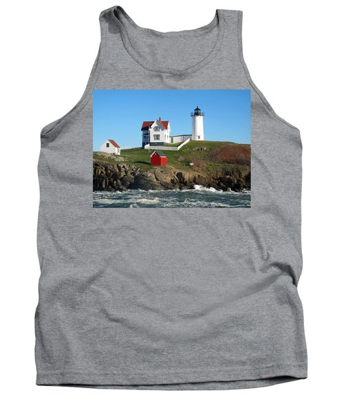Nubble Lighthouse One Tank Top