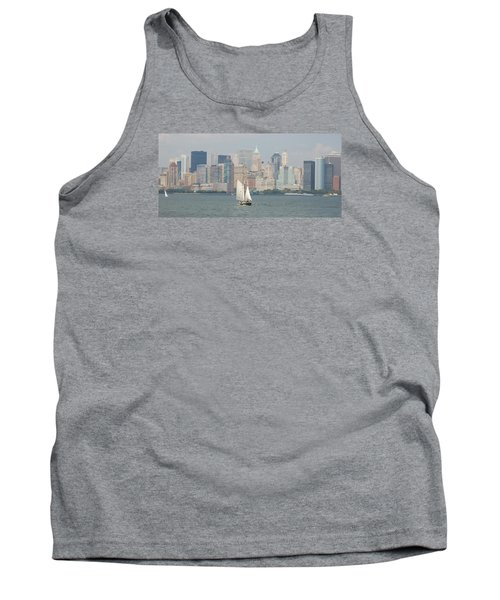 Ny City Skyline Tank Top