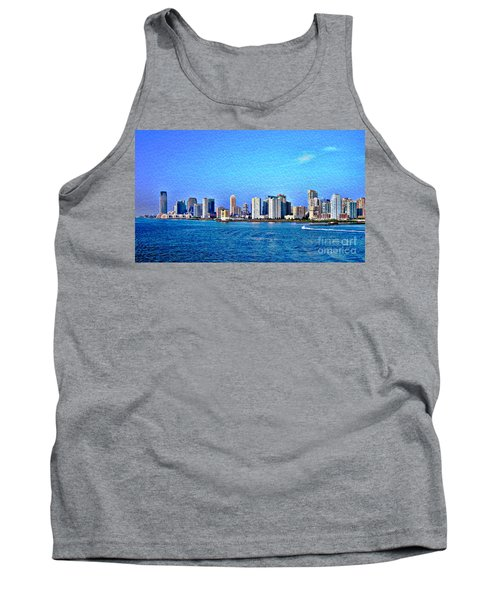Tank Top featuring the photograph Nyc  The Big Apple  by Judy Palkimas