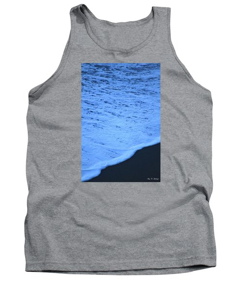 Tank Top featuring the photograph Ocean Blues by Amy Gallagher