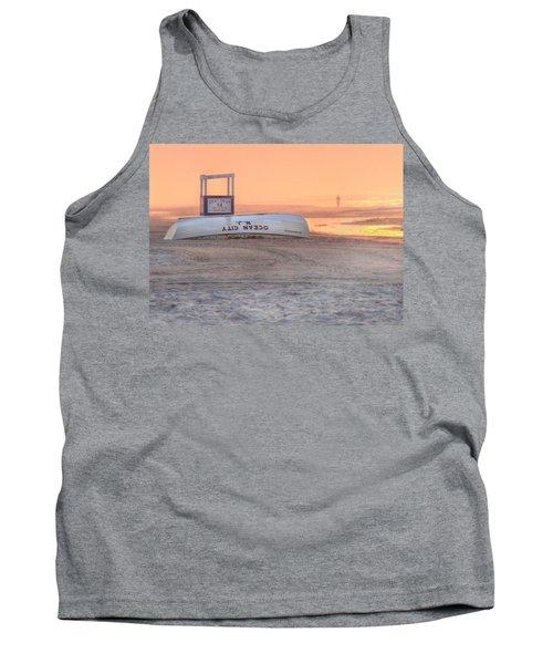 Ocean City Beach Patrol Tank Top by Lori Deiter