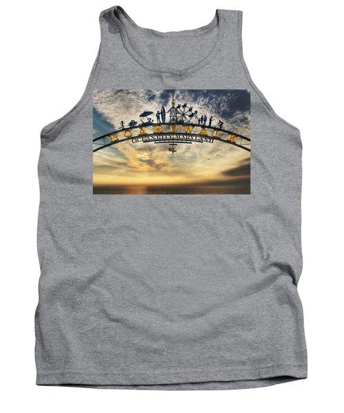 Ocean City Boardwalk Tank Top by Lori Deiter
