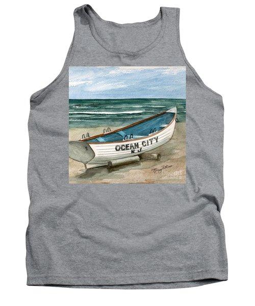 Ocean City Lifeguard Boat 2  Tank Top