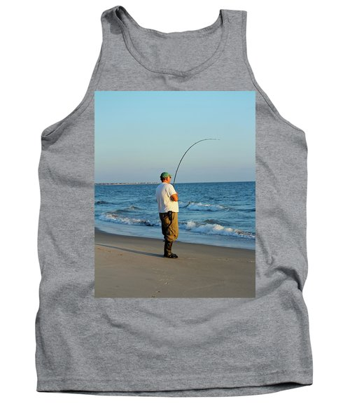 Tank Top featuring the photograph Ocean Fishing by Cynthia Guinn