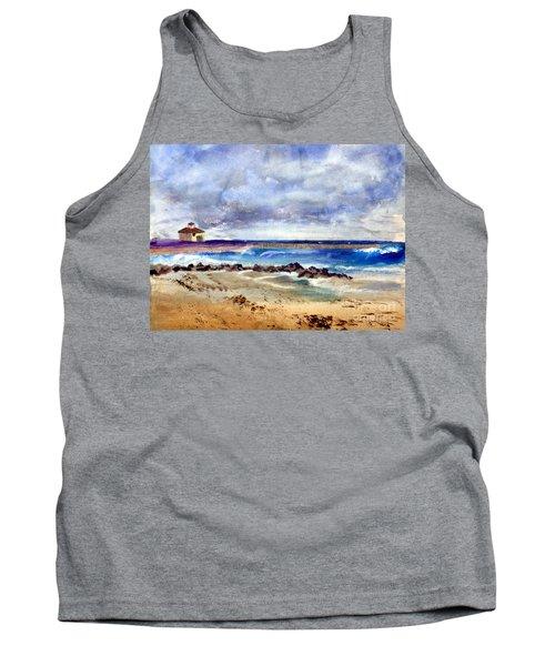 Ocean  Inlet Beach In Boynton Beach Tank Top by Donna Walsh