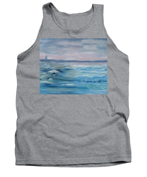 Oceans Of Color Tank Top by Diane Pape