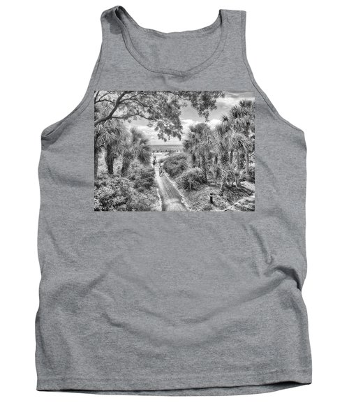 Tank Top featuring the photograph Off To The Beach by Howard Salmon