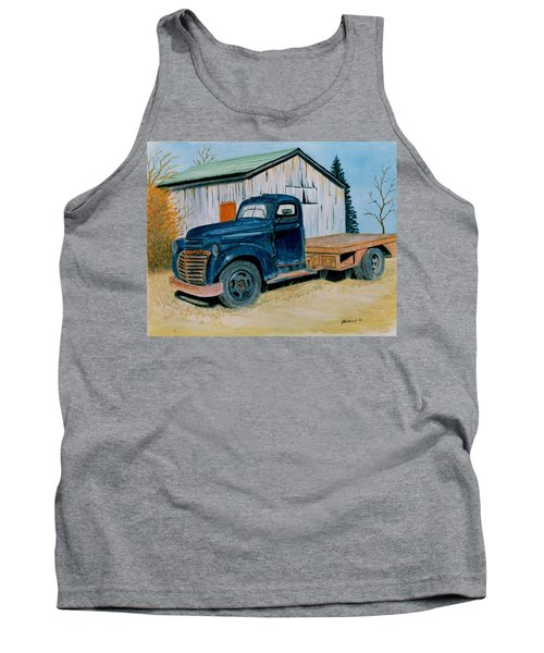 Old Blue Tank Top