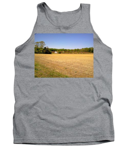 Old Chicken House On A Farm Field Tank Top