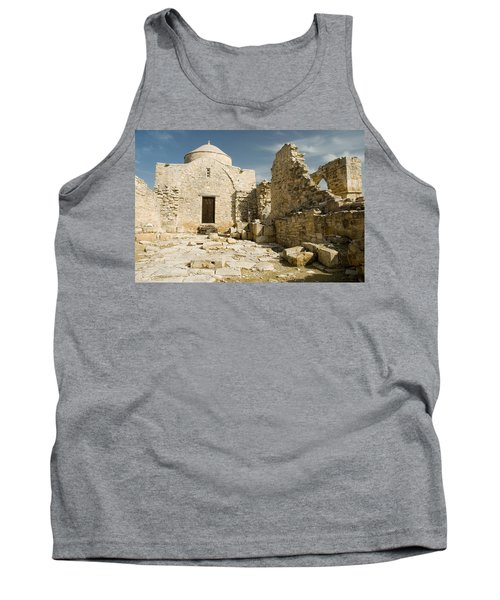 Old Church Anogyra  Tank Top