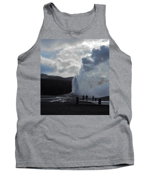 Tank Top featuring the photograph Old Faithful Morning by Michele Myers