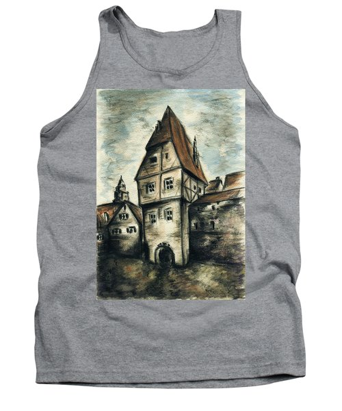Old Framework House - Pencil Tank Top
