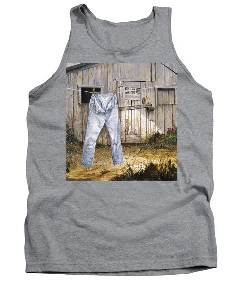 Old Friends Tank Top by Michael Humphries