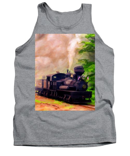 Old No. 5 Tank Top by Michael Pickett