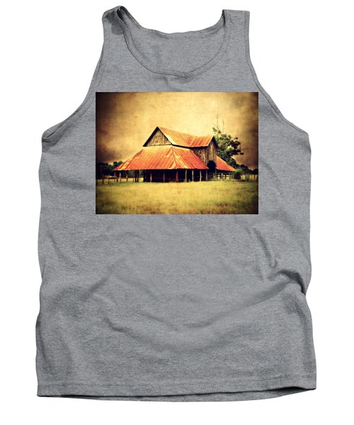 Old Texas Barn Tank Top