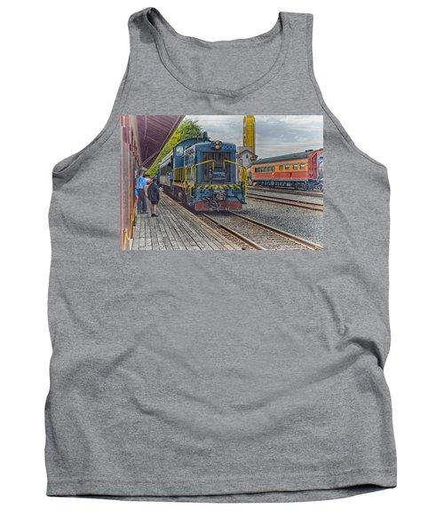 Old Town Sacramento Railroad Tank Top