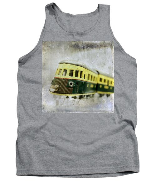 Old Toy-train Tank Top