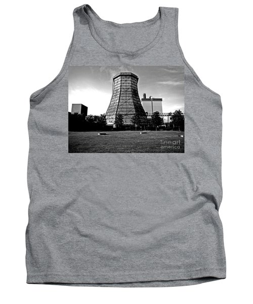 Old Wooden Cooling Tower Tank Top