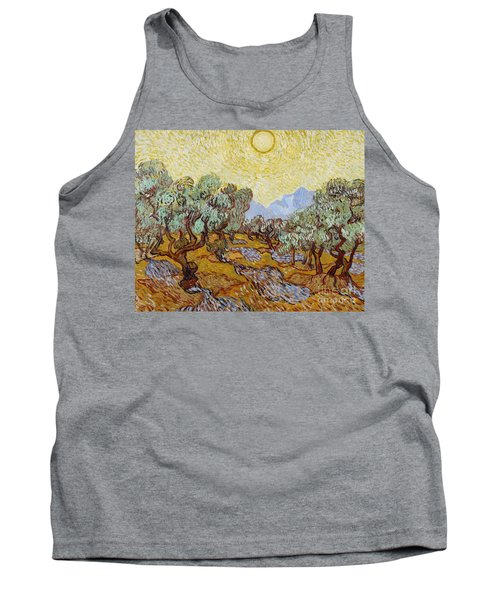 Olive Trees Tank Top