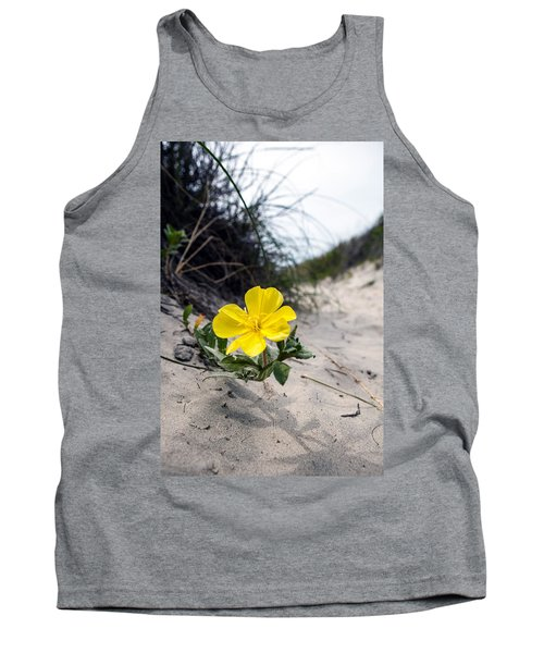 Tank Top featuring the photograph On The Path by Sennie Pierson