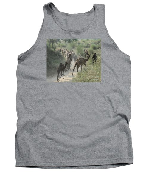 On The Road To Pushkar Tank Top