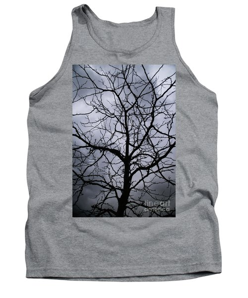 Tank Top featuring the photograph On Their Shoulders Held The Sky by Linda Shafer