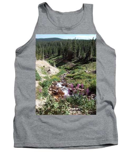 On Top Of The Continental Divide In The Rocky Mountains Tank Top