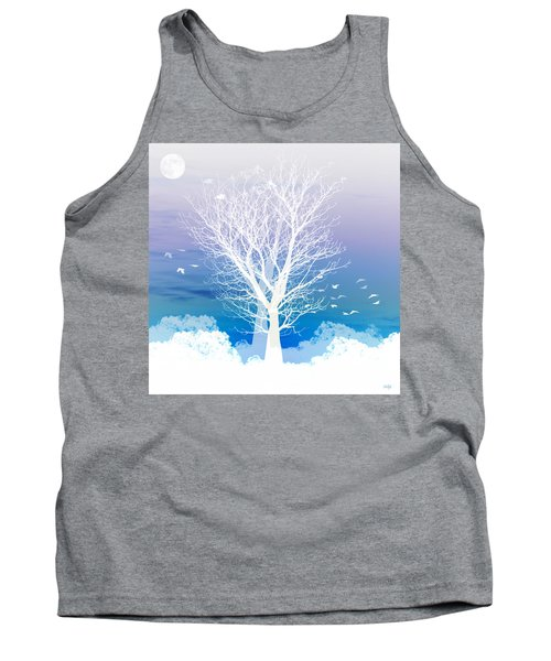 Once Upon A Moon Lit Night... Tank Top