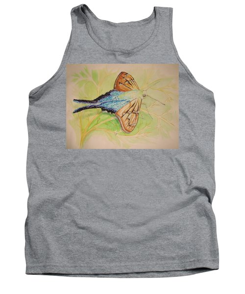 One Day In A Long-tailed Skipper Moth's Life Tank Top