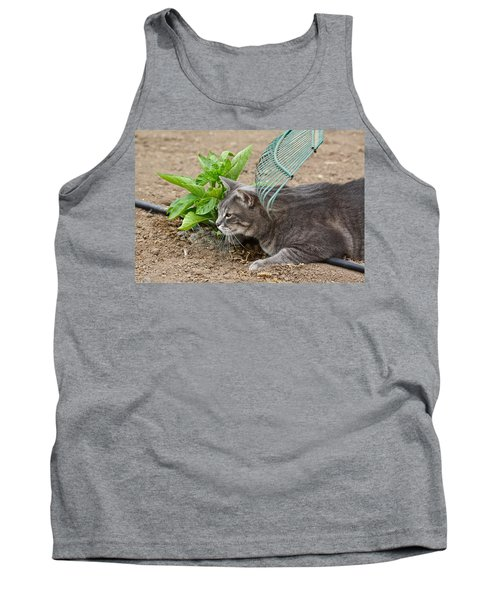 One Happy Cat Tank Top