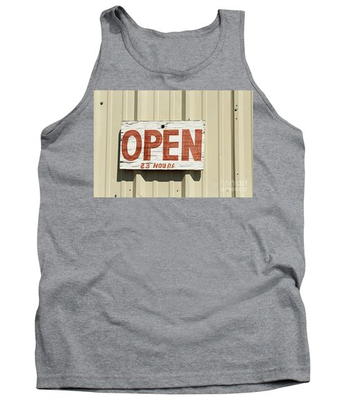 One Hour Lunch Tank Top