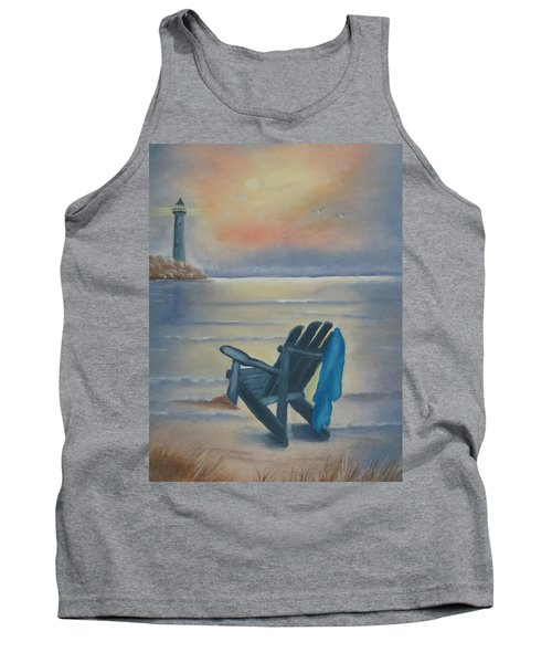 One Is A Lonely Number Tank Top by Kay Novy
