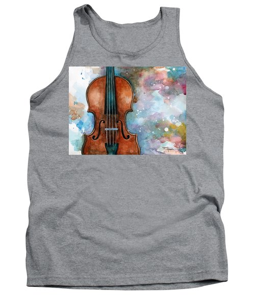One Voice In The Cosmic Fugue Tank Top