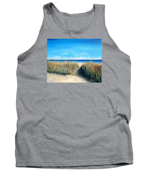 Open Invitation Tank Top by Laurie Morgan