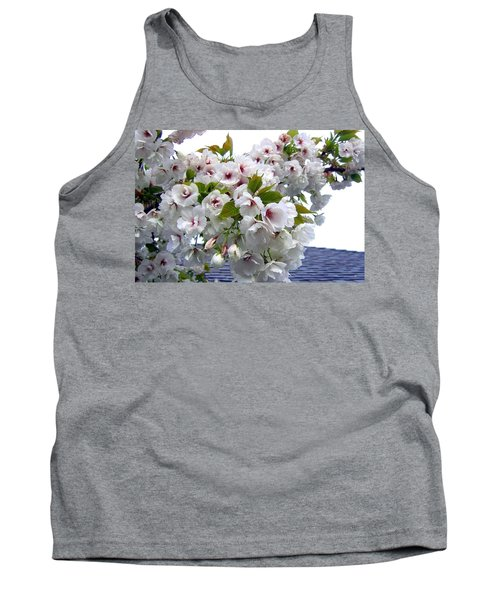 Oregon Cherry Blossoms Tank Top