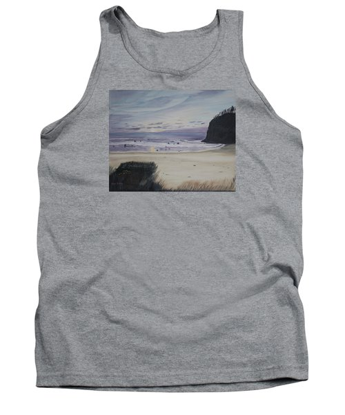 Oregon Coast Tank Top by Ian Donley