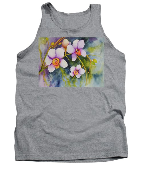 Orchids In My Garden Tank Top
