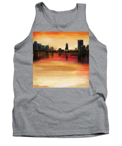 Orlando City Skyline  Tank Top