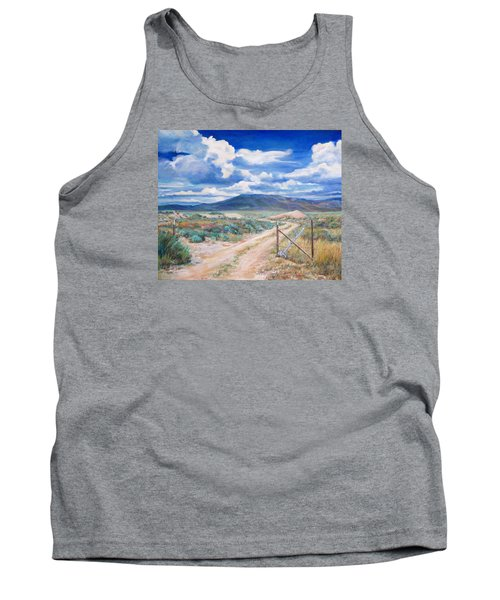Osceola Nevada Ghost Town Tank Top by Donna Tucker