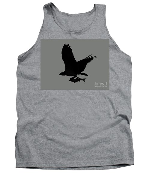 Tank Top featuring the photograph Osprey With A Fish Photo by Meg Rousher