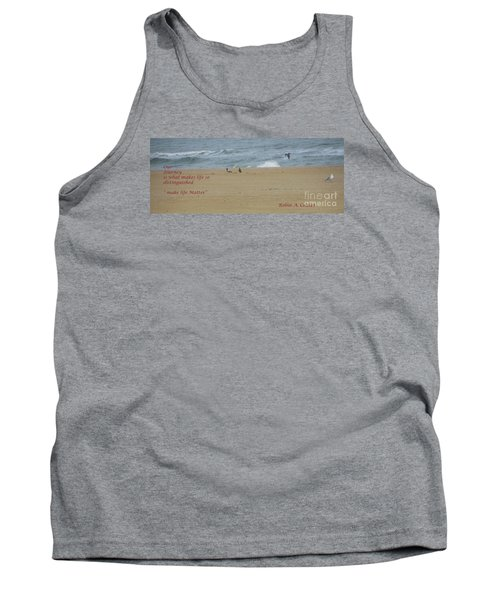 Our Journey  Tank Top by Robin Coaker