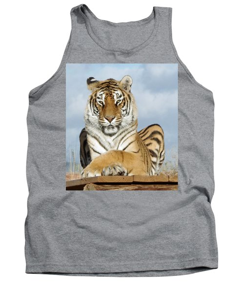 Out Of Africa Tiger 3 Tank Top
