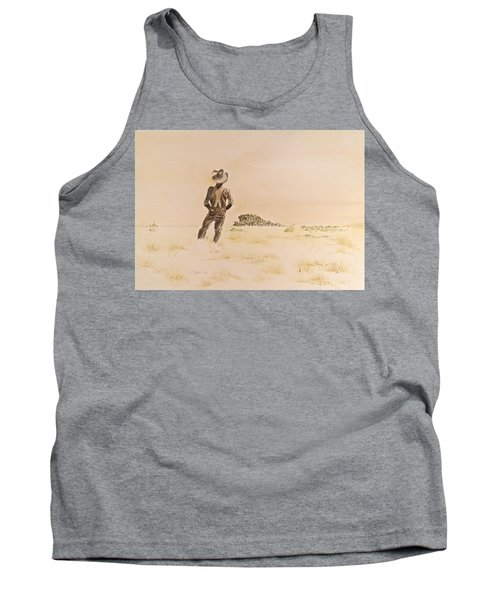 Tank Top featuring the painting Out There by Michele Myers
